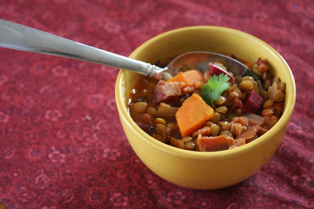 Recipe: Easy Lentil Soup