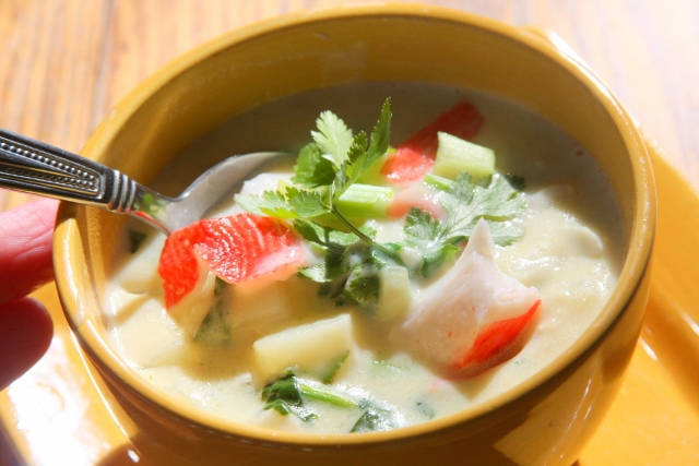 Hearty Crab Chowder